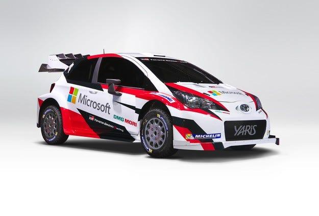 Toyota представи новия Yaris WRC