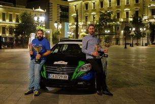 Дедиков и Павлов с призово класиране в еко шампионата