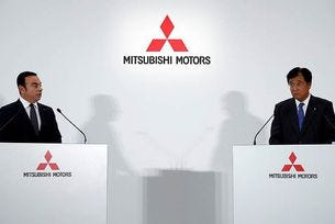 Mitsubishi стана част от алианса Renault-Nissan