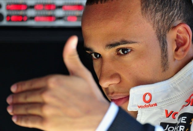 Хамилтън в McLaren до 2012