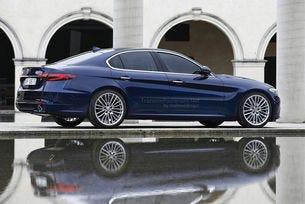 Alfa Romeo ще прави конкурент на BMW Серия 5
