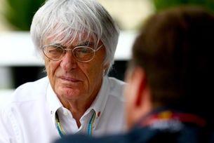 Екълстоун слезе от върха във Формула 1