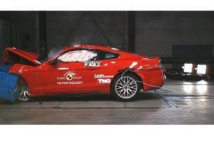 Ford Mustang се провали на тестовете на Euro NCAP