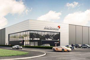 McLaren отвори карбонов център за шасита в Англия