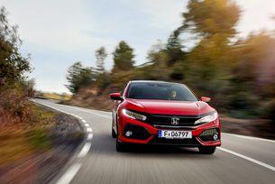 Новият Honda Civic с впечатляваща безопасност