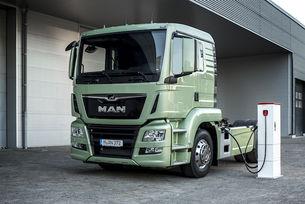 MAN пуска електрически камион в края на 2018