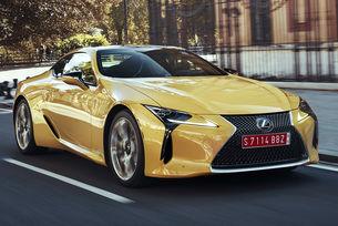 Lexus LC F: Мощна версия с битурбо V8 и 600 к.с.