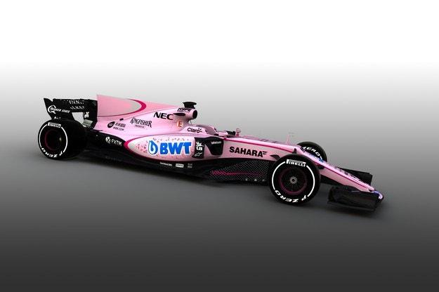 Force India ще използва нови цветове