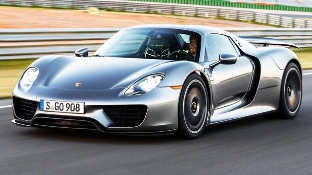 Ново Porsche 918 Spyder ще има най-рано през 2025 г.
