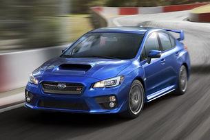 Вижте какво прави Subaru WRX STI на бобслей писта