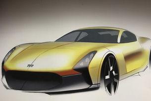 Възродената компания TVR показва ново купе
