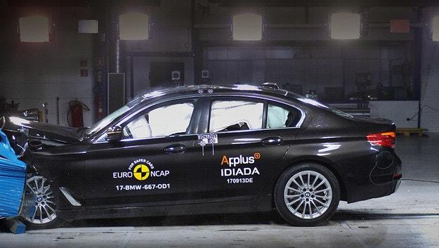 Новото BMW Серия 5 се яви на Euro NCAP краш тестове
