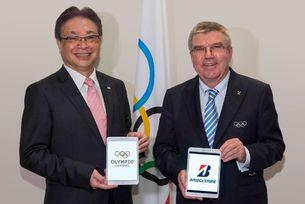 Bridgestone е основател на Олимпийски тв канал