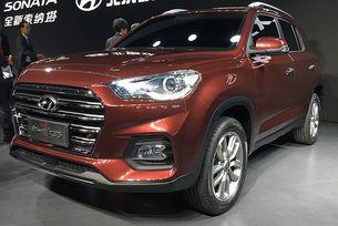В Шанхай дебютира новият Hyundai ix35