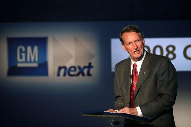 General Motors отчете $38.7 милиарда загуба