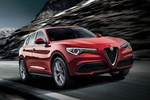 Alfa Romeo Stelvio оборудван с гуми на Bridgestone