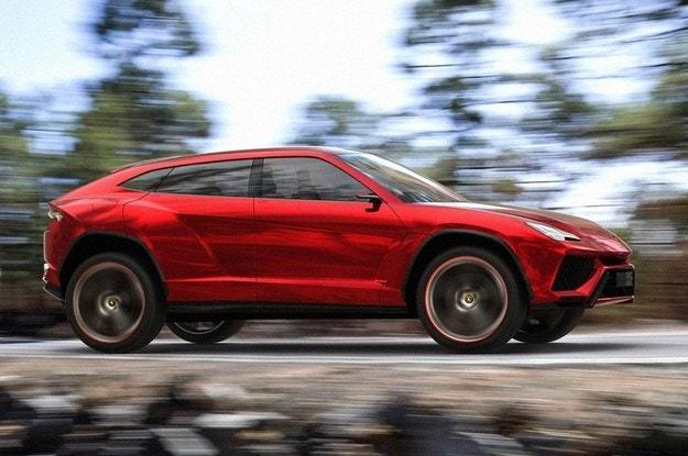 Първият кросоувър на Lamborghini тръгва с 650 к.с.