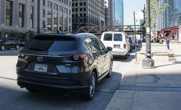 Издебнаха новия офроудър на Mazda без камуфлаж