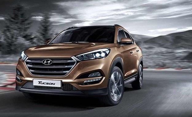 Hyundai умува над спортна версия на кросоувъра Tucson