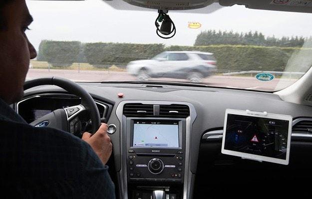 Ford обяви нова система за коли с мигащи светлини