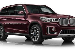 BMW потвърди представянето на X7 през 2018 г.