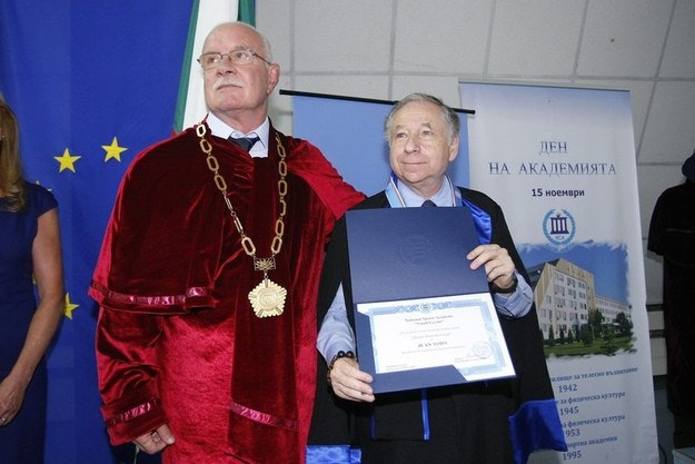 Жан Тод посети България