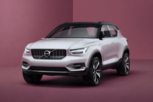 Бъдете себе си с новото Volvo XC40