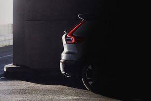 Пуснаха първото изображение на новото Volvo XC40