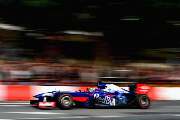 Toro Rosso е на път да избере Honda