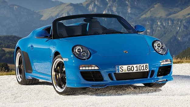 Porsche ще заведе във Франкфурт версия Speedster на 911