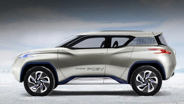 Електрическият кросоувър Nissan Terra става сериен