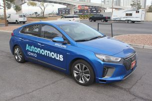 Hyundai с автономни коли за Зимната олимпиада