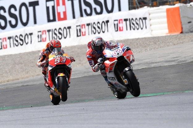 Дови победи Маркес в уникалната Гран при на Австрия