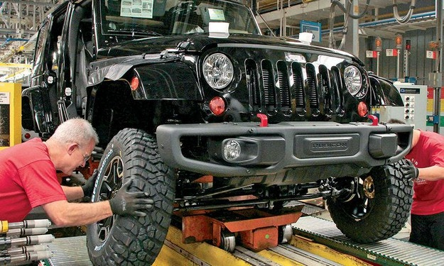 Започна производството на новия Jeep Wrangler