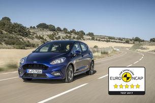 Изцяло новият Ford Fiesta с 5 звезди за безопасност