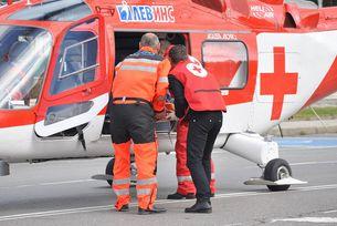 """Въздушната линейка на """"Активна грижа"""" спаси парапланерист"""
