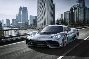 Mercedes-AMG Project One става електромобил