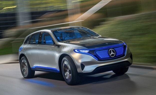 Mercedes приема поръчки за нов електромобил