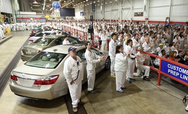 Започна производството на новия седан Honda Accord