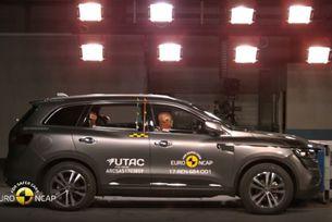 Пет звезди от Euro NCAP за новия Renault Koleos