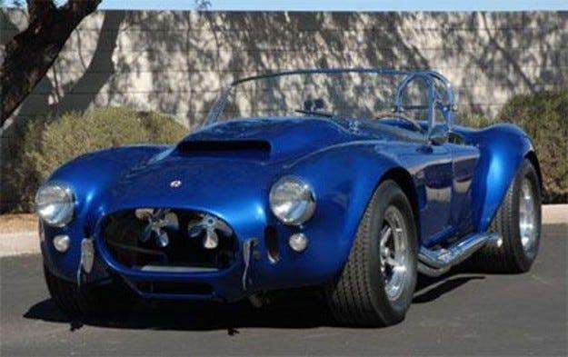 Shelby Cobra за 5,5 милиона долара