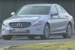 Разкриха обновения Mercedes-Benz C-класа на видео