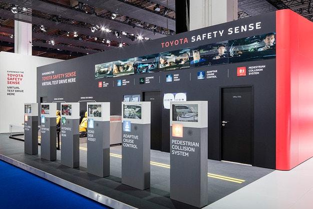 Второ поколение на системите Toyota Safety Sense