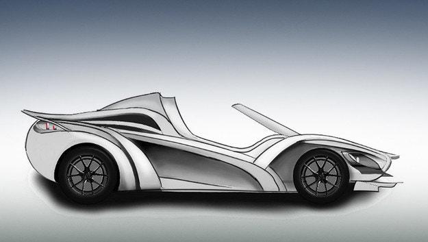 В Женева дебютира нов суперавтомобил Sin S1