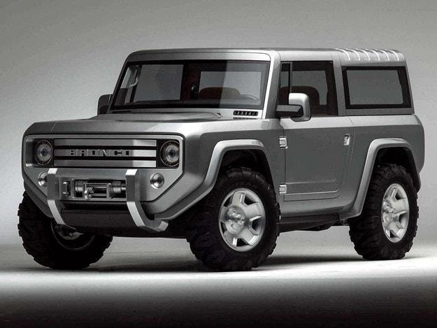 Ford потвърди появата на Bronco през 2020 г.