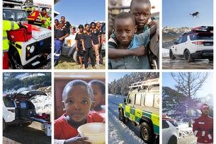 Доброволци от JLR правят животоспасяващи  карти