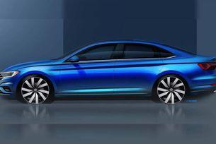 Volkswagen показа дизайна на новото поколение Jetta