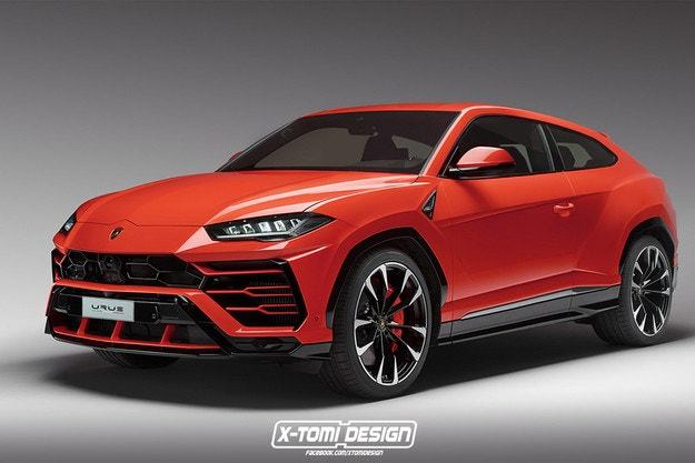 Lamborghini Urus Coupe от X-Tomi Design