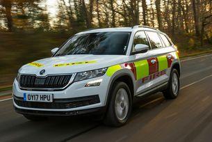 Skoda пусна гама автомобили за аварийните служби