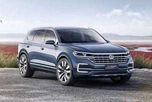 Новият VW Touareg дебютира през април 2018